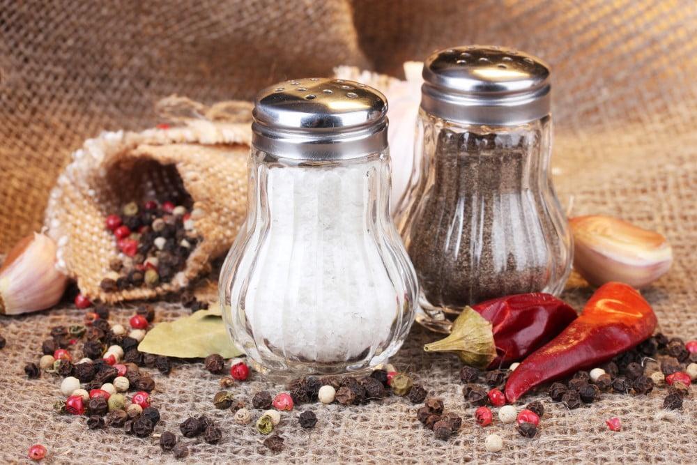 Klassisk salt og peber sæt